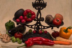 Lebensmittel Volumen