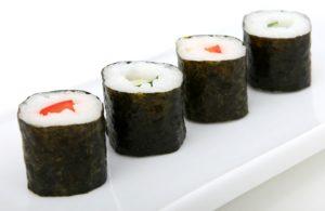 Algen und Fisch abnehmen